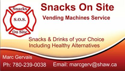 Snacks On Site - Vente, location et service de distributeurs automatiques