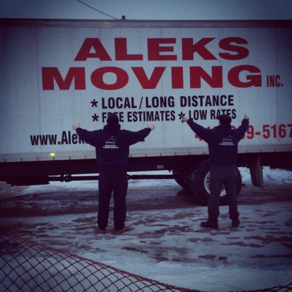 Aleks Moving - Moving Services & Storage Facilities - 519-991-3118