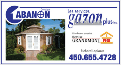 Service Gazon plus - Paysagistes et aménagement extérieur - 450-655-4728