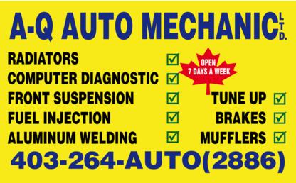 A-Q Auto Mechanic - Auto Repair Garages
