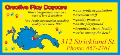 Creative Play Inc - Kindergartens & Pre-school Nurseries - 867-667-2761