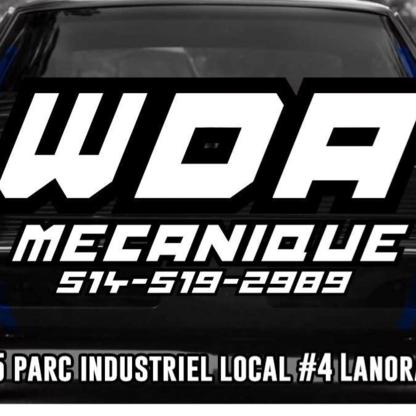 WDA Mécanique & Pneus - Tire Retailers - 514-519-2989