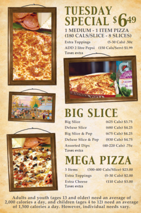 Godfathers Pizza - Delhi - Pizza & Pizzerias - 519-582-1112