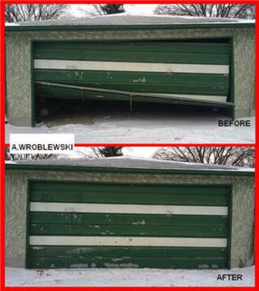 Wroblewski Garage Door - Garage Door Openers - 204-291-2689