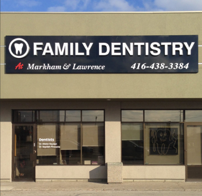 Family Dentistry at Markham and Lawrence - Teeth Whitening Services - 416-438-3384