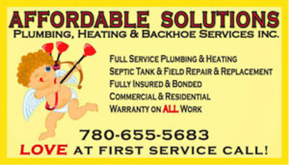 Affordable Solutions Plumbing Heating & Backhoe Services - Plumbers & Plumbing Contractors