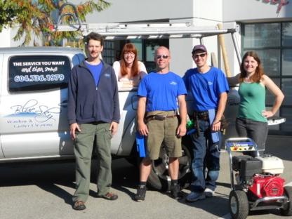 Blue Sky Window & Gutter Cleaning Ltd - Eavestroughing & Gutters