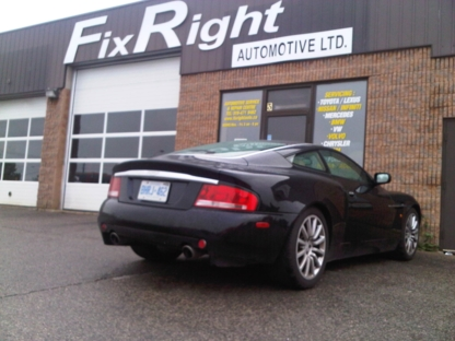 Fix Right Automotive Ltd - Car Repair & Service - 519-471-9462