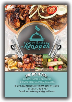 Resto Kenayah - Rotisseries & Chicken Restaurants - 613-749-5757