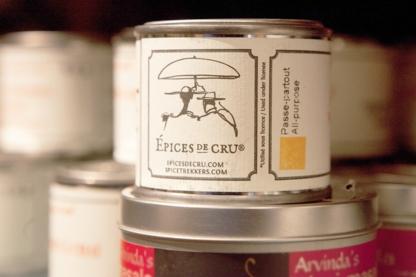 Épices de cru - Épiceries fines - 514-271-0001