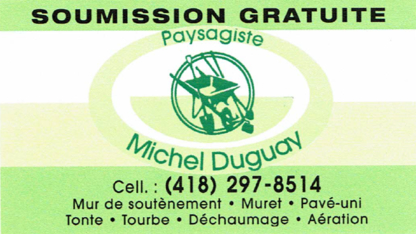 Paysagiste Michel Duguay - Entrepreneurs en excavation - 418-297-8514