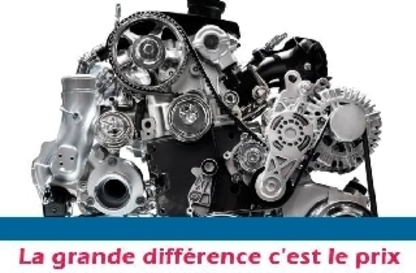 Pièces D'Autos Ste-Genevieve Alma - Magasins de pneus - 418-668-9111