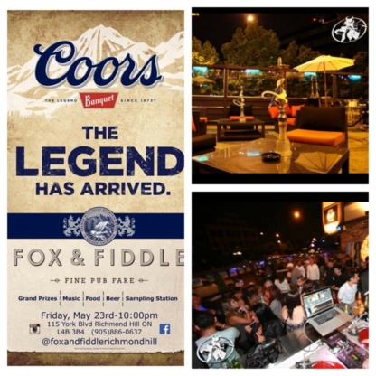 Fox and Fiddle - Pubs - 905-886-0637
