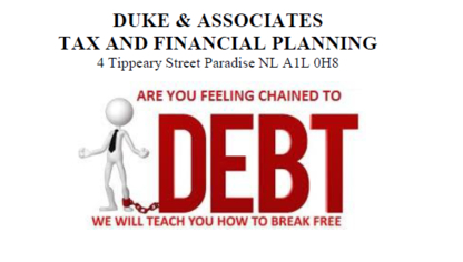 Duke & Associates Tax and Financial Planning - Credit & Debt Counselling - 709-579-4284