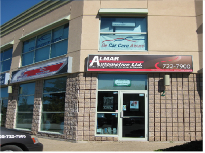 Almar Automotive Ltd - Auto Repair Garages - 705-722-7900