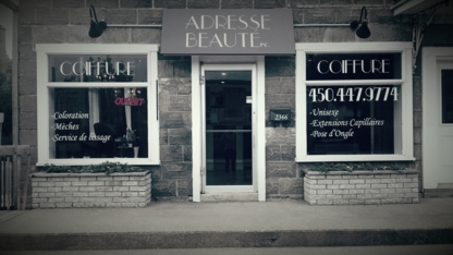Adresse Beauté Inc. - Hair Extensions - 450-447-9774