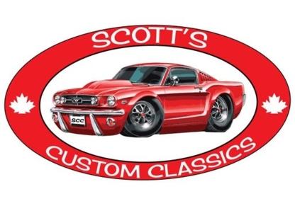 Scott's Custom Classics - Réparation et entretien d'auto - 905-686-4722