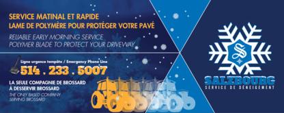 Salzbourg Inc - Couvreurs - 514-233-5007