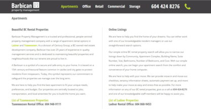 Barbican Property Management - Property Management