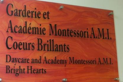 Garderie Montessori A M I Coeurs Brillants - Garderies - 514-744-2220