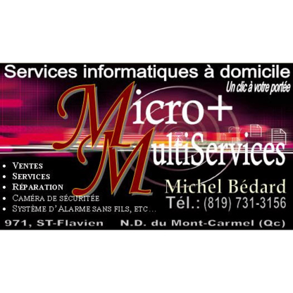 Microplus Multiservices - Computer Repair & Cleaning - 819-840-7740