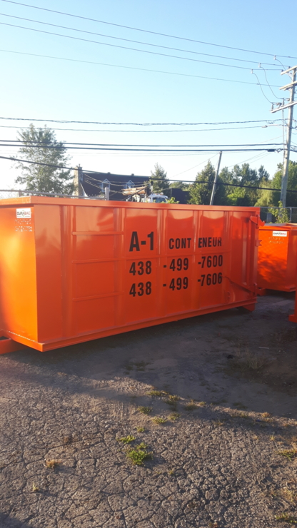 A1 Conteneur - Waste Bins & Containers