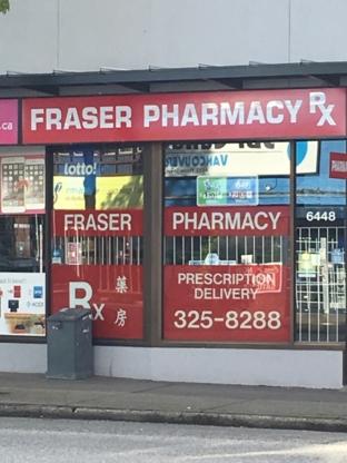 Fraser Pharmacy - Pharmacies - 604-325-8288