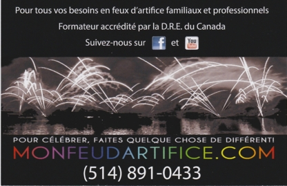 MONFEUDARTIFICE.com - Feux d'artifice