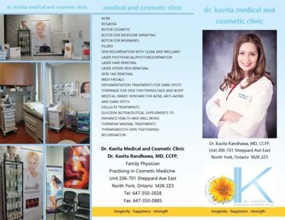 Dr Kavita Randhawa Medicine - Laser Hair Removal - 647-350-2028