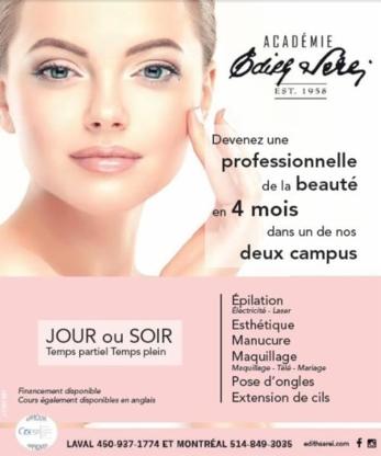 Académie Edith Serei - Écoles de coiffure et d'esthétique - 514-849-3035