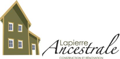 Construction Lapierre Ancestrale - Rénovations - 418-969-7592