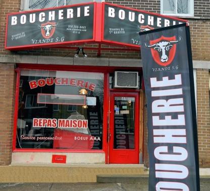 Viandes S G - Boucheries - 514-255-9441