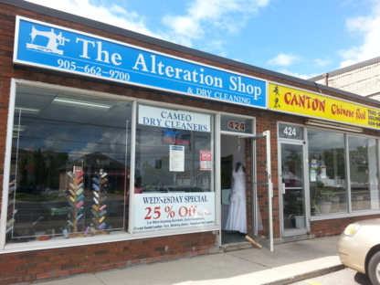 The Alteration Shop - Dry Cleaners - 905-662-9700