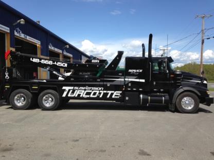 Suspension Turcotte Alma Inc - Remorquage de véhicules