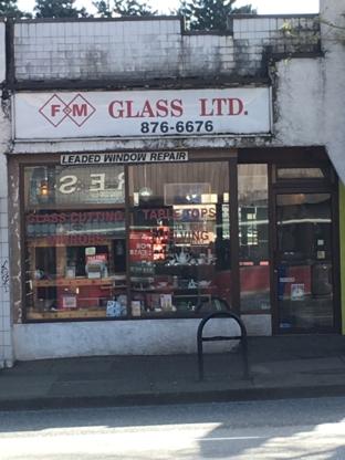 F & M Glass Ltd - Pare-brises et vitres d'autos - 604-876-6676