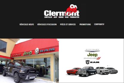 Garage Clermont Dodge-Chrysler Inc - New Car Dealers - 418-439-4626