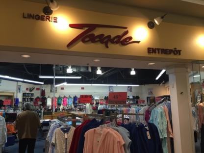 Lingerie Et Maillot Tocade - Lingerie Stores - 514-383-0382