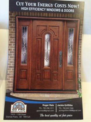 Go Pro Windows & Doors - Window Repair - 780-296-1011