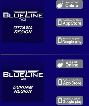 Blue Line Taxi - Taxis - 905-440-2000
