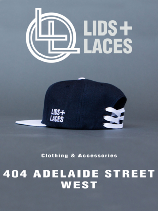 Lids + Laces - Clothing Stores - 647-523-4207