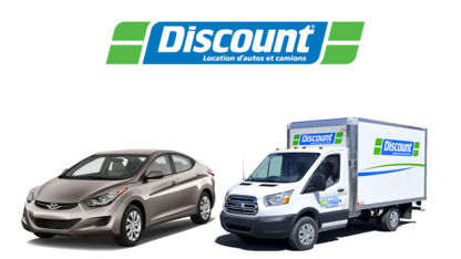 Discount Location d'Autos et Camions - Location d'auto à court et long terme - 418-827-4237