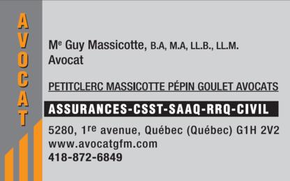 Petitclerc Massicotte Pépin Goulet - Lawyers - 418-872-6849