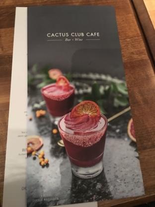 Cactus Club Cafe - Restaurants - 604-291-6606