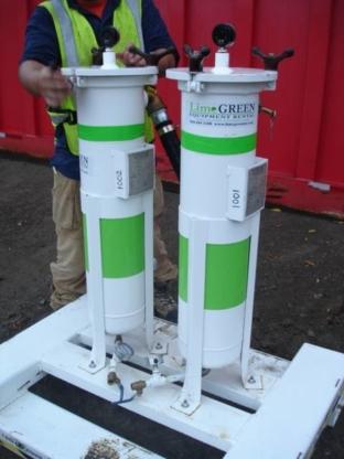 Lime GREEN Equipment Rental - Contractors' Equipment Rental