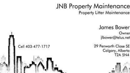 View JNB Property Litter Maintenance's Crossfield profile