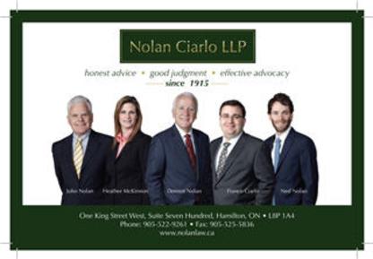 Nolan Ciarlo LLP - Real Estate Lawyers