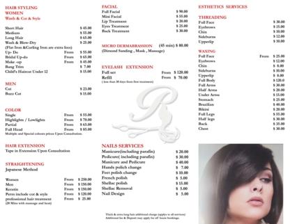 Richmond Hair Salon, Nails & Esthetics - Salons de coiffure et de beauté - 905-773-9946