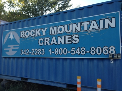 Rocky Mountain Cranes - Service et location de grues - 250-342-2283