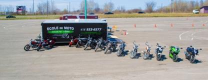 Ecole de Conduite Moto Centre-ville - Écoles de conduite - 418-933-6577