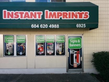 Instant Imprints - Broderie - 604-620-4988